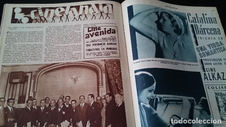 Coleccionismo de Revistas y Periódicos: REVISTA POPULAR ILUSTRADA MUNDO GRÁFICO 1 NOVIEMBRE 1933 - NUM 1148 AÑO XXIII - REPÚBLICA - Foto 9 - 120046903
