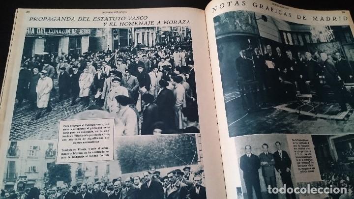 Coleccionismo de Revistas y Periódicos: REVISTA POPULAR ILUSTRADA MUNDO GRÁFICO 1 NOVIEMBRE 1933 - NUM 1148 AÑO XXIII - REPÚBLICA - Foto 10 - 120046903