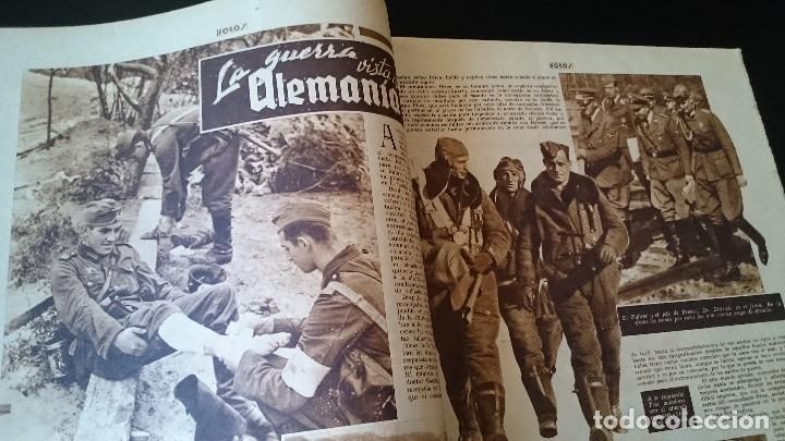Coleccionismo de Revistas y Periódicos: SEMANARIO GRÁFICO NACIONALSINDICALISTA FOTOS 11 NOVIEMBRE 1939 AÑO III N 141 - Foto 3 - 120051095