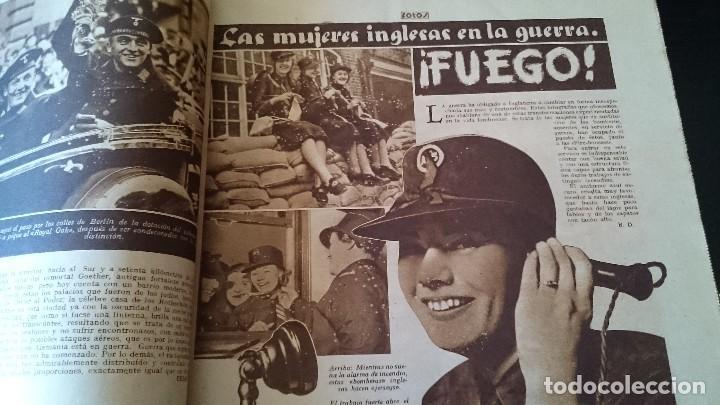 Coleccionismo de Revistas y Periódicos: SEMANARIO GRÁFICO NACIONALSINDICALISTA FOTOS 11 NOVIEMBRE 1939 AÑO III N 141 - Foto 4 - 120051095