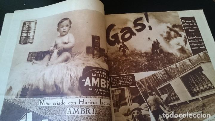 Coleccionismo de Revistas y Periódicos: SEMANARIO GRÁFICO NACIONALSINDICALISTA FOTOS 11 NOVIEMBRE 1939 AÑO III N 141 - Foto 5 - 120051095