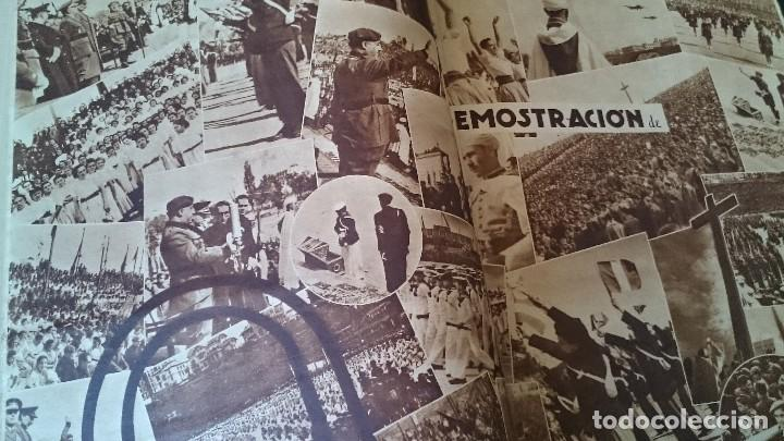 Coleccionismo de Revistas y Periódicos: SEMANARIO GRÁFICO NACIONALSINDICALISTA FOTOS 11 NOVIEMBRE 1939 AÑO III N 141 - Foto 6 - 120051095