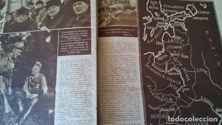 Coleccionismo de Revistas y Periódicos: SEMANARIO GRÁFICO NACIONALSINDICALISTA FOTOS 11 NOVIEMBRE 1939 AÑO III N 141 - Foto 7 - 120051095