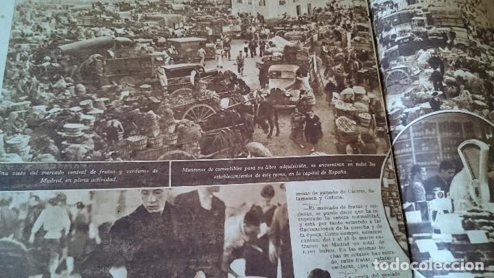 Coleccionismo de Revistas y Periódicos: SEMANARIO GRÁFICO NACIONALSINDICALISTA FOTOS 11 NOVIEMBRE 1939 AÑO III N 141 - Foto 8 - 120051095