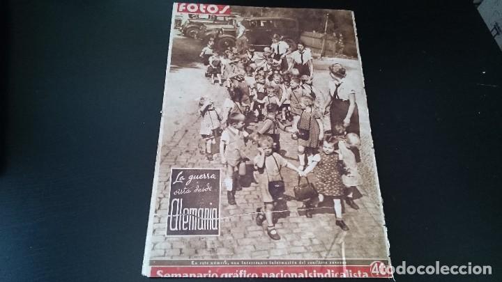 Coleccionismo de Revistas y Periódicos: SEMANARIO GRÁFICO NACIONALSINDICALISTA FOTOS 11 NOVIEMBRE 1939 AÑO III N 141 - Foto 10 - 120051095