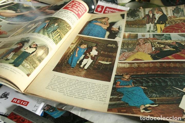 Coleccionismo de Revistas y Periódicos: CAMILO SESTO SALVADOR DALI MARIO CABRE ALI MAC GRAW TOPOL UN DOS TRES MISS LEANDRO 1972 - Foto 2 - 120204531