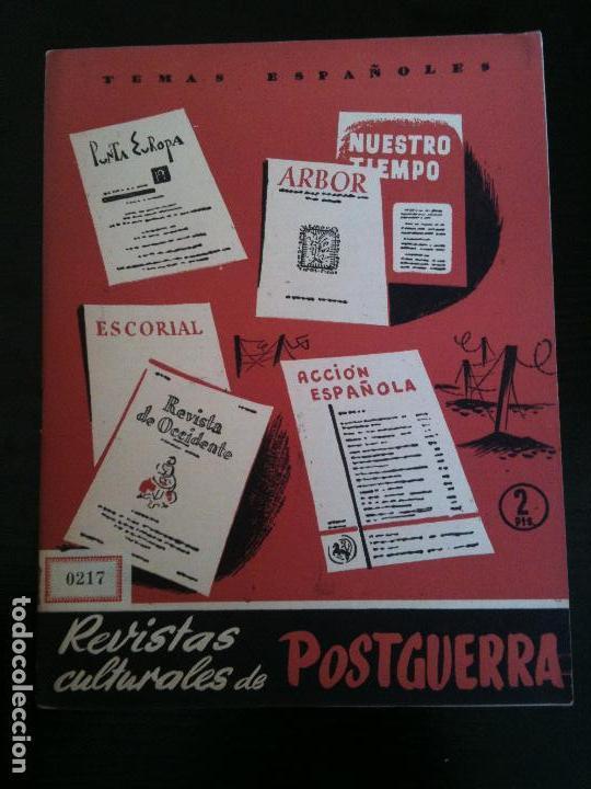 REVISTAS CULTURALES DE POSTGUERRA Nº215 (Coleccionismo - Revistas y Periódicos Modernos (a partir de 1.940) - Otros)
