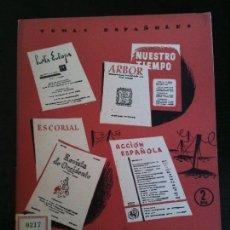 Coleccionismo de Revistas y Periódicos: REVISTAS CULTURALES DE POSTGUERRA Nº215. Lote 120209699