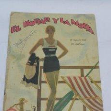 Coleccionismo de Revistas y Periódicos: REVISTA DE MODA, EL HOGAR Y LA MODA 1931.. Lote 120288615
