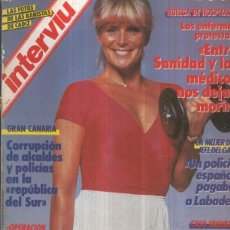 Coleccionismo de Revistas y Periódicos: INTERVIU NUMERO 0575: LINDA EVANS DE DINASTIA DESNUDA. Lote 120288652