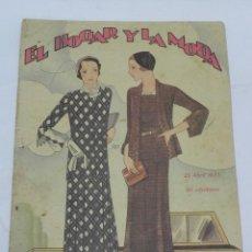 Coleccionismo de Revistas y Periódicos: REVISTA DE MODA, EL HOGAR Y LA MODA 1931.. Lote 120288711