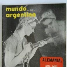 Coleccionismo de Revistas y Periódicos: REVISTA MUNDO ARGENTINO N° 2402 MARZO 1957. Lote 120314312
