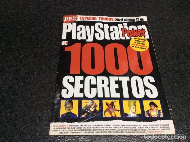 PLAYSTATION POWER NÚMERO EXTRA, 1000 SECRETOS- REVISTA VIDEOJUEGOS (Coleccionismo - Revistas y Periódicos Modernos (a partir de 1.940) - Otros)