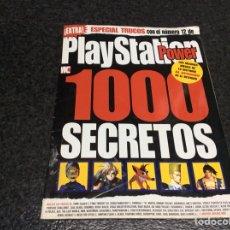 Coleccionismo de Revistas y Periódicos: PLAYSTATION POWER NÚMERO EXTRA, 1000 SECRETOS- REVISTA VIDEOJUEGOS. Lote 120324535