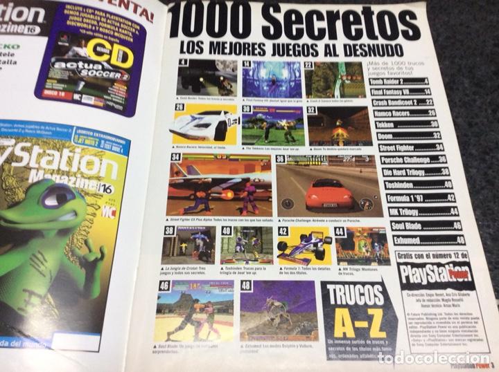 Coleccionismo de Revistas y Periódicos: Playstation Power número extra, 1000 secretos- REVISTA VIDEOJUEGOS - Foto 2 - 120324535