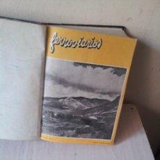 Coleccionismo de Revistas y Periódicos: FERROVIARIOS, REVISTA DE LA RENFE - 3 AÑOS COMPLETOS, 1954/1955/1956 - 1 TOMO . Lote 120344371