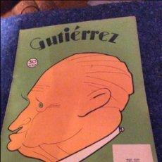Coleccionismo de Revistas y Periódicos: GUTIERREZ FRANCISCO LARGO CABALLERO 1933. Lote 120346023