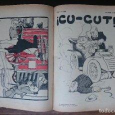 Coleccionismo de Revistas y Periódicos: 1907 ¡CU-CUT! SETMANARI DE GRESCA AB NINOTS. AMB L'ESPECIAL DE SOLIDARITAT CATALANA. Lote 120391683