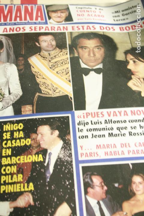 SALVADOR DALI AGATA LYS UN DOS TRES ISABEL PANTOJA IMPERIO ARGENTINA ESTEFANIA DE MONACO 1984 (Coleccionismo - Revistas y Periódicos Modernos (a partir de 1.940) - Otros)