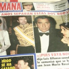 Coleccionismo de Revistas y Periódicos: SALVADOR DALI AGATA LYS UN DOS TRES ISABEL PANTOJA IMPERIO ARGENTINA ESTEFANIA DE MONACO 1984. Lote 120440535