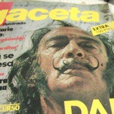 Coleccionismo de Revistas y Periódicos: SALVADOR DALI TEDY BAUTISTA LOS CANARIOS 1980. Lote 120441715