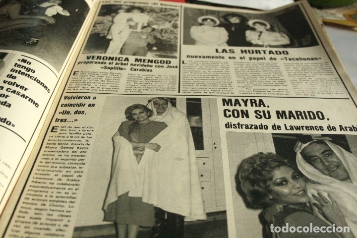 Coleccionismo de Revistas y Periódicos: SALVADOR DALI AGATA LYS UN DOS TRES ISABEL PANTOJA IMPERIO ARGENTINA ESTEFANIA DE MONACO 1984 - Foto 2 - 120440535