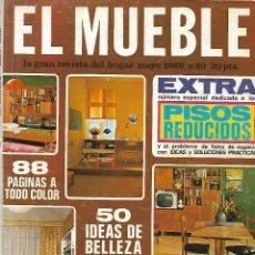 Coleccionismo de Revistas y Periódicos: REVISTA EL MUEBLE, Nº 89, MAYO 1969 . Lote 120557051