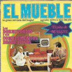 Coleccionismo de Revistas y Periódicos: REVISTA EL MUEBLE, Nº 78, JUNIO 1968 . Lote 120557763