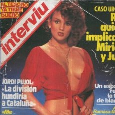 Coleccionismo de Revistas y Periódicos: INTERVIU NUMERO 0392: AMANDA LEAR, DE ESUEÑO. Lote 120745026