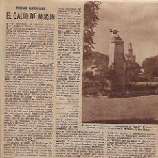 Coleccionismo de Revistas y Periódicos: AÑO 1954 OPERACION ARAGON AGRICULTURA HUESCA PANTANO MEDIANO GALLO DE MORON MOTA DEL CUERVO. Lote 120826991