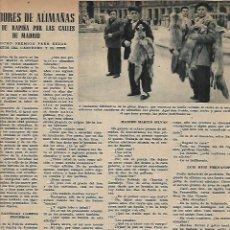 Coleccionismo de Revistas y Periódicos: AÑO 1952 CAZA ALIMAÑAS AVES RAPIÑA MADRID CENTRAL ELECTRICA SALIME HOMBRE DE PEKIN BENAVENT COCINA. Lote 120844987