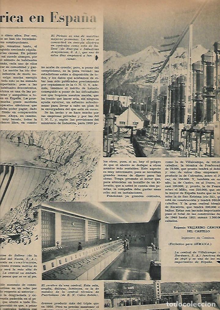 Coleccionismo de Revistas y Periódicos: AÑO 1952 CAZA ALIMAÑAS AVES RAPIÑA MADRID CENTRAL ELECTRICA SALIME HOMBRE DE PEKIN BENAVENT COCINA - Foto 2 - 120844987