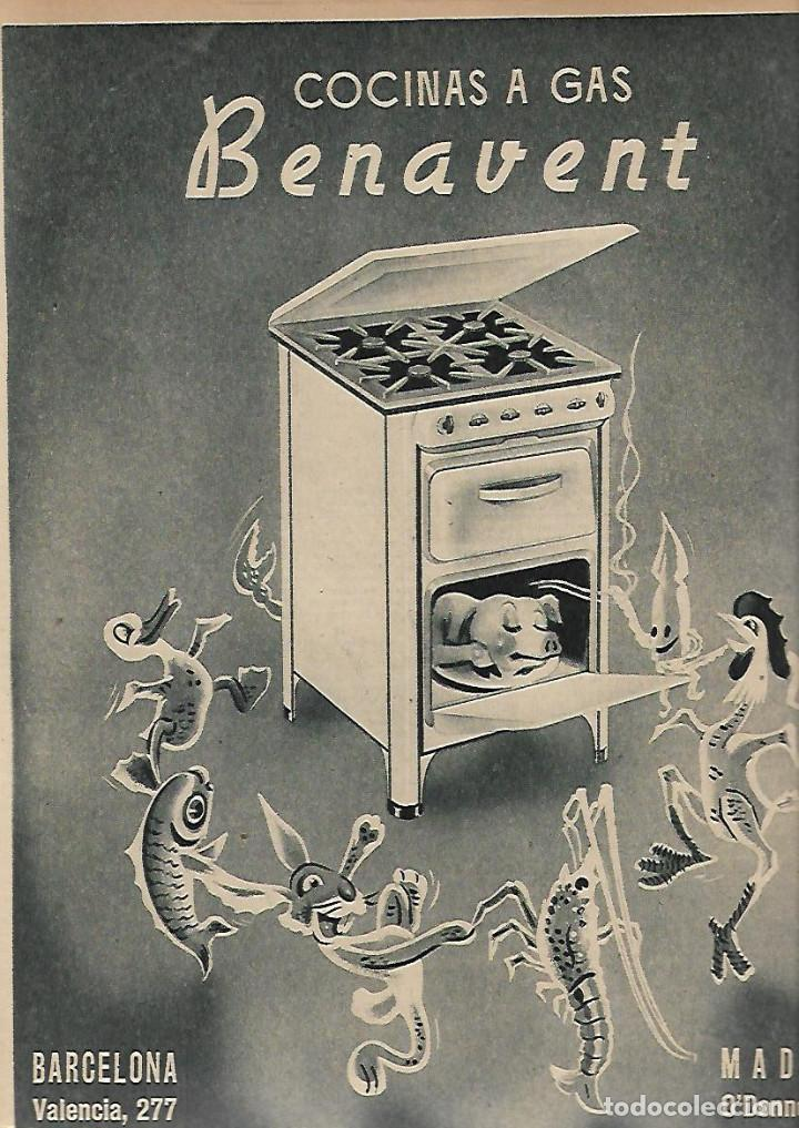 Coleccionismo de Revistas y Periódicos: AÑO 1952 CAZA ALIMAÑAS AVES RAPIÑA MADRID CENTRAL ELECTRICA SALIME HOMBRE DE PEKIN BENAVENT COCINA - Foto 4 - 120844987