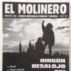Coleccionismo de Revistas y Periódicos: EL MOLINERO ATENEO LIBERTARIO DE MONZÓN Y COMARCA MAYO 1998. Lote 120855987