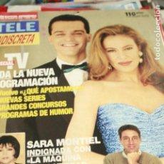 Coleccionismo de Revistas y Periódicos: TELE INDISCRETA Nº 476 ANA OBREGON SARA MONTIEL 1994. Lote 120943415
