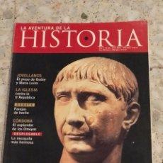 Coleccionismo de Revistas y Periódicos: LA AVENTURA DE LA HISTORIA NÚMERO 32. Lote 120949947