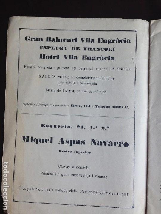 Coleccionismo de Revistas y Periódicos: ART NOVELL - REVISTA DE JOVENTUT- NUMERO 30 - JUNIO 1926 - Foto 5 - 120950303