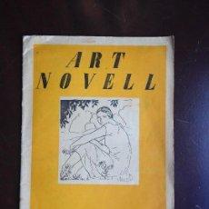 Coleccionismo de Revistas y Periódicos: ART NOVELL - REVISTA DE JOVENTUT- NUMERO 30 - JUNIO 1926. Lote 120950303