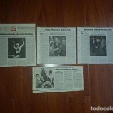 Coleccionismo de Revistas y Periódicos: MADONNA - RECORTES. Lote 120953895