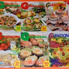 Coleccionismo de Revistas y Periódicos: LOTE 6 REVISTAS GUIACOCINA. AÑOS 80. Lote 121007755