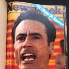 Coleccionismo de Revistas y Periódicos: NEWSWEEK - THE INTERNATIONAL NEWSMAGAZINE - NEW YORK - AÑO 1973. Lote 121030015