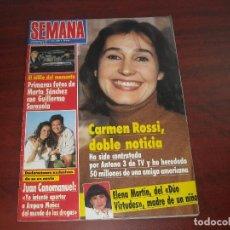 Coleccionismo de Revistas y Periódicos: REVISTA SEMANA- FEB 1990- 2609- ISABEL PANTOJA-MARTA SANCHEZ-ANTONIO BANDERAS-CARMEN ROSSI-. Lote 121155743