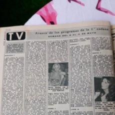 Coleccionismo de Revistas y Periódicos: SOFIA LOREN RAQUEL WELCH MARISA MEDINA. Lote 121401555