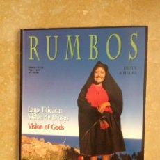 Coleccionismo de Revistas y Periódicos: RUMBOS. LAGO TITICACA/TARAPOTO/CHICLAYO AÑO II N 10 (1997) PERÚ. Lote 121509071