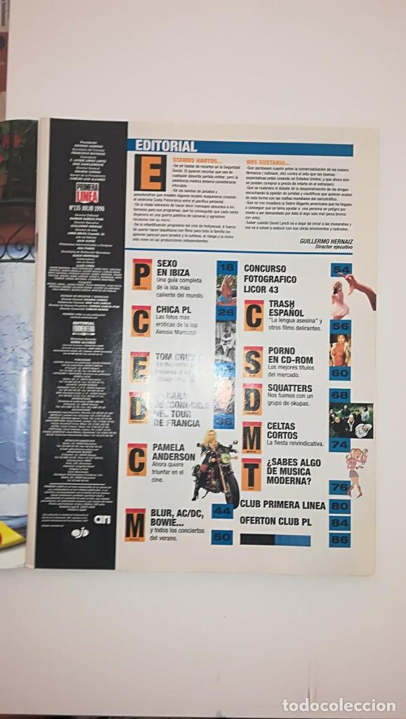 Coleccionismo de Revistas y Periódicos: Revista Primera Linea nº 135 - Sexo en Ibiza Tom Cruise Pamela Anderson Indice en la descripción - Foto 2 - 121529091