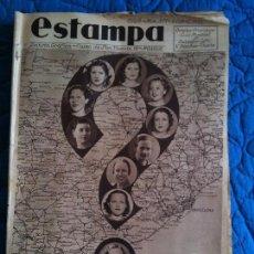 Coleccionismo de Revistas y Periódicos: ESTAMPA 6 DE ABRIL DE 1935. Lote 121531479