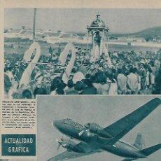 Coleccionismo de Revistas y Periódicos: AÑO 1956 LUCENA ROMERIA VIRGEN ARACELI TOLEDO MUSEO GRECO CALATAYUD INUNDACIONES COCHE DE CABALLOS. Lote 121554483