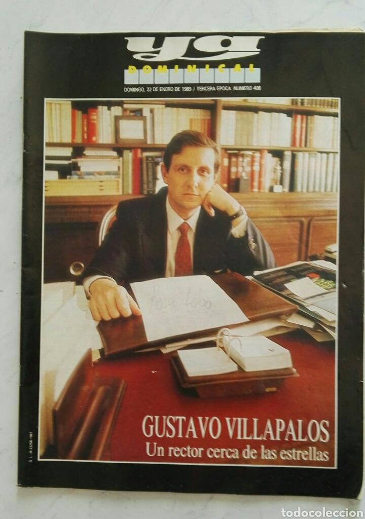 REVISTA YA DOMINICAL ENERO 1989 (Coleccionismo - Revistas y Periódicos Modernos (a partir de 1.940) - Otros)