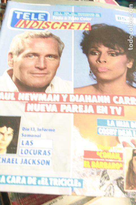 TELE INDISCRETA Nº 183 PAUL NEWMAN EL TRICICLE MICHAEL JACKSON 1988 (Coleccionismo - Revistas y Periódicos Modernos (a partir de 1.940) - Otros)