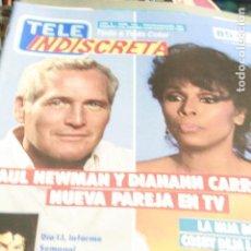 Coleccionismo de Revistas y Periódicos: TELE INDISCRETA Nº 183 PAUL NEWMAN EL TRICICLE MICHAEL JACKSON 1988. Lote 121591639
